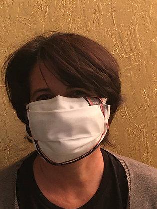 Masque 5 - Divine bichromie brique
