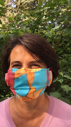 Masque 4 - Pop Art Framboise