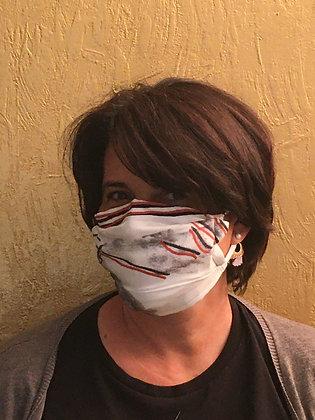 Masque 2 - Divine bichromie brique