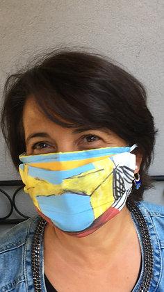 Masque 2 - Pop Art Brique