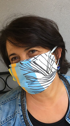 Masque 1 - Pop Art Brique
