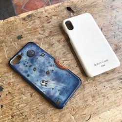 Coque Iphone en cuir brut ! Couleur à façon !
