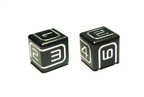AKO POLY DICE - D6 (2 dice)