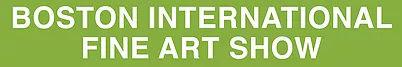 Boston International Fine Art Show logo