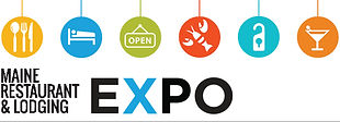 Maine Restaurant & Lodging Expo logo
