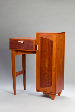 Sapele Cabinet and Drawer
