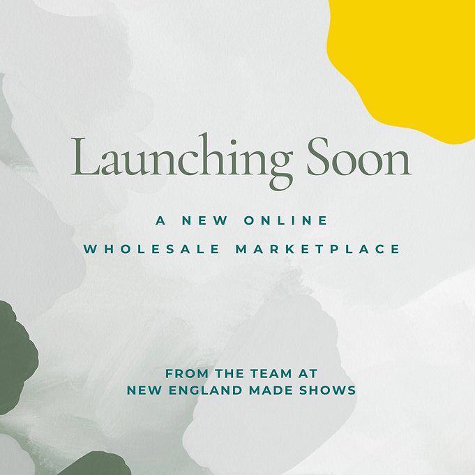 announcement that our new wholesale markeplace is coming soon.