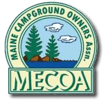 Maine Campground Owners Association show logo