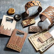 bracelets and money clips
