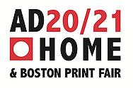 AD2021 Home and Boston Print Fair Show logo