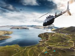вертолетный полет