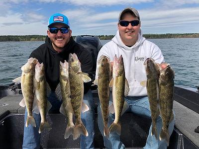 Leech Lake Walleye Limit