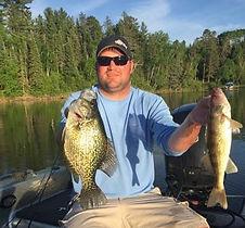 Leech Lake Walleye and Crappie