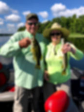 Large Mouth Bass an Northern Pike Double