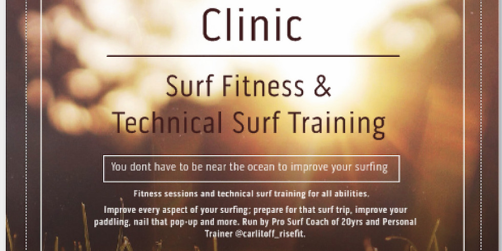London Surf Clinic: Fitness Sessions