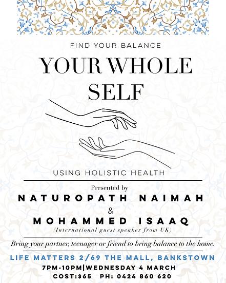 Whole Self: Bringing Balance
