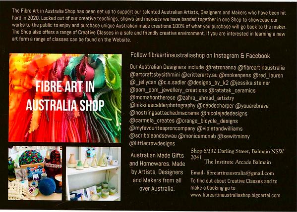 Red Lauren in Fibre Art in Australia Shop
