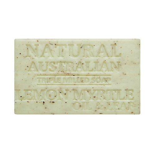 Lemon Myrtle Oil & Leaf Soap