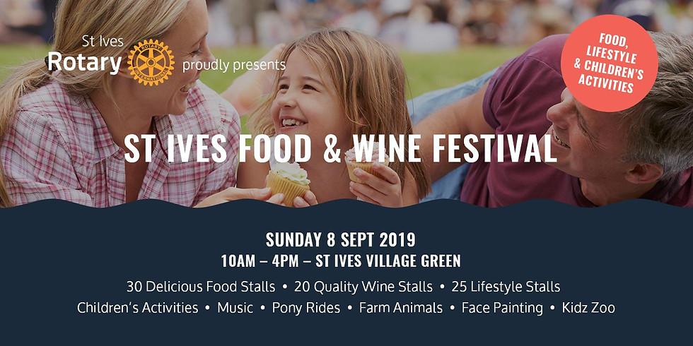 St Ives Food & Wine Festival