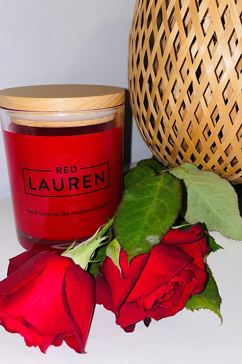 Red Rose Candle - Valentines Special