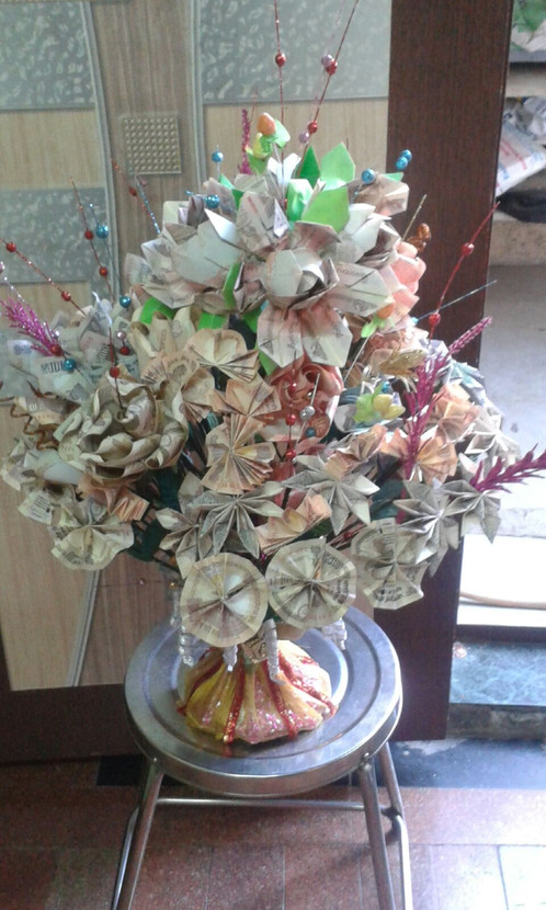Mini Money Bouquet | panachecreatives