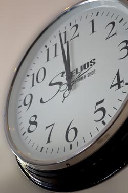 custom made clock vinyl cut