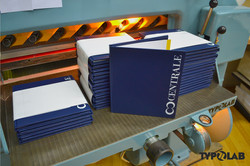 synthetic leather bookbinding
