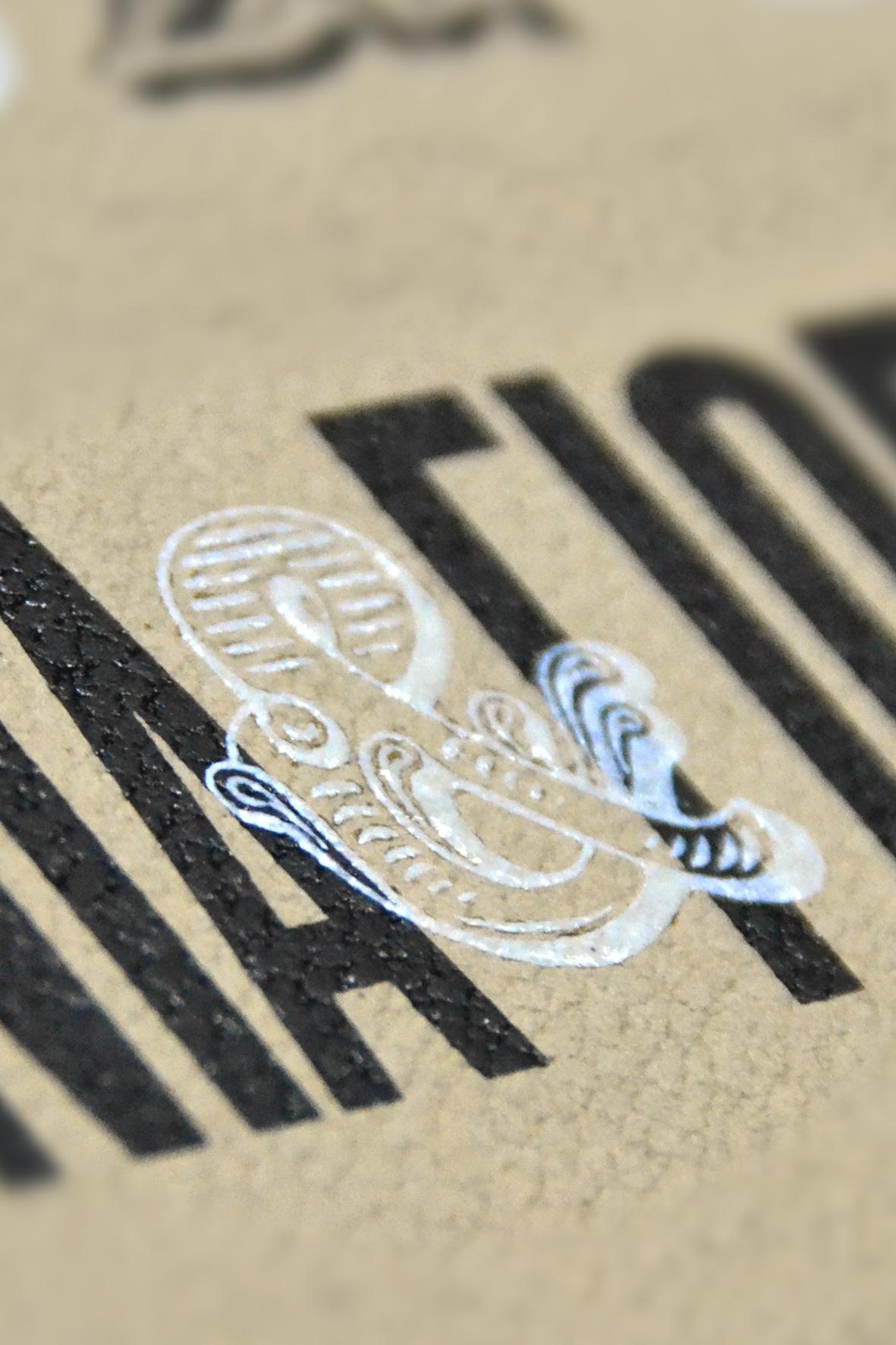 silkscreen printing /letterpress