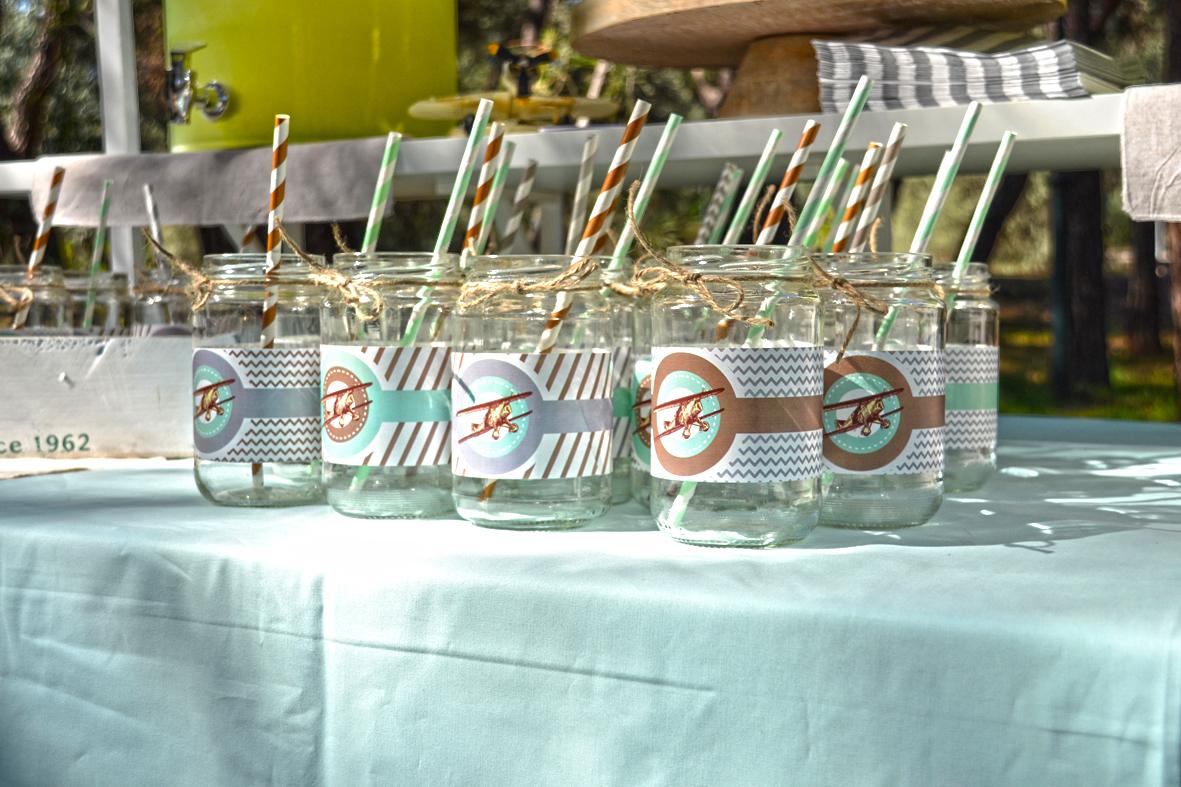 Labels for lemonade jar