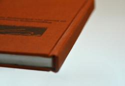 linen textile bookbinding