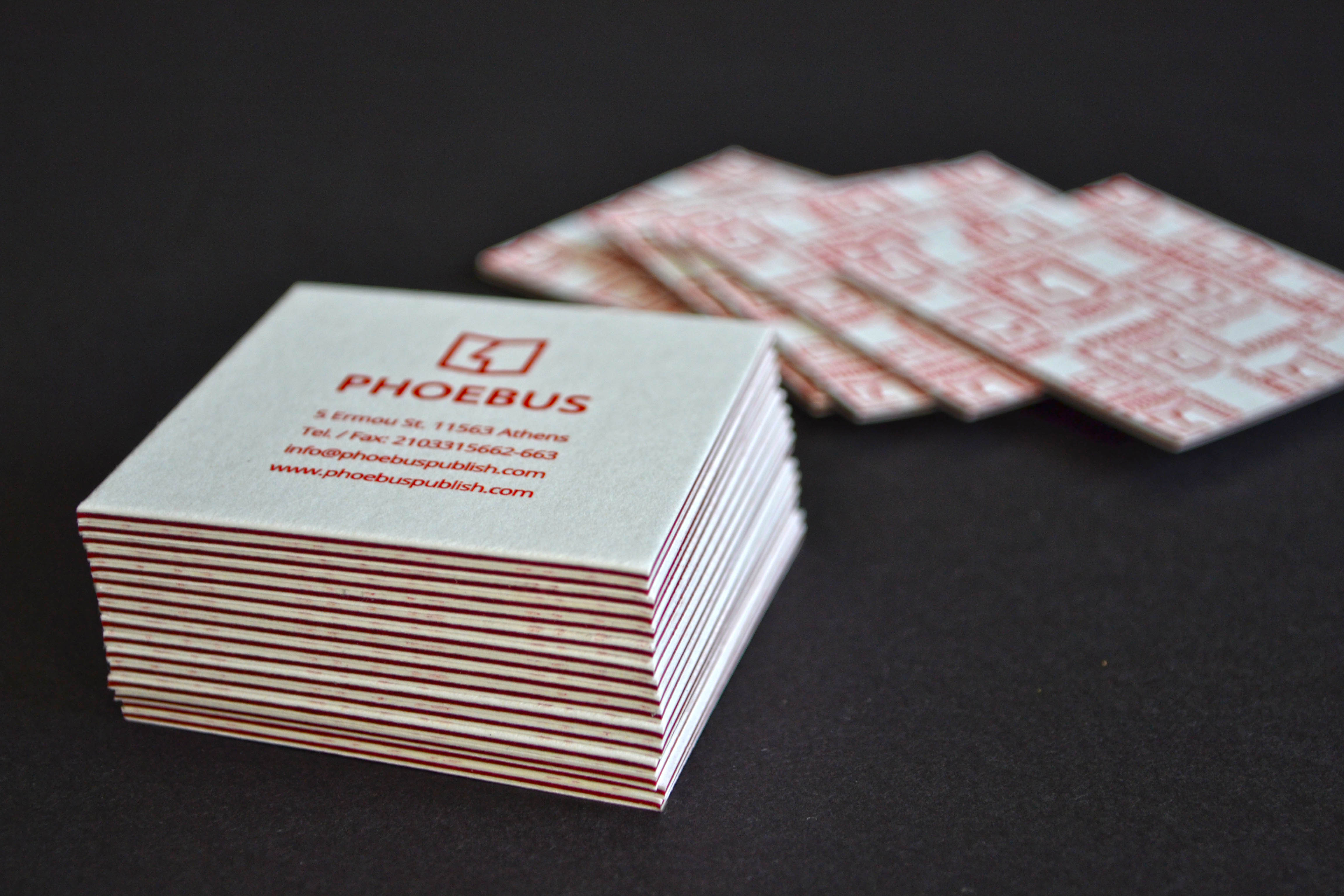 4 layer laminated business cards