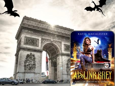 Aisling Grey, Tome 1 : Un dragon pas si charmant, écrit par Katie MacAlister