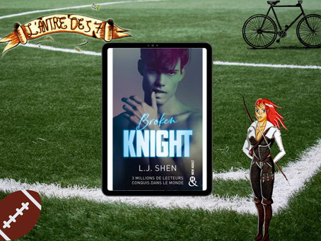 All saint High, tome 2 : Broken Knight écrit par L.J Shen