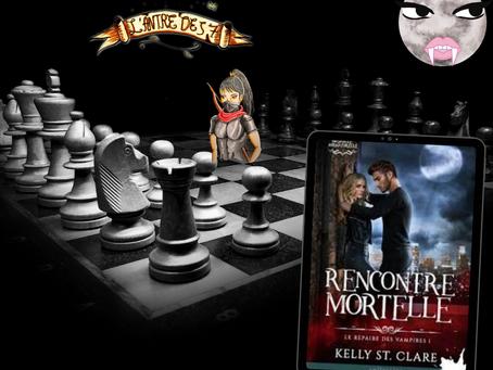 Bataille surnaturelle : Le Repaire des vampires, Tome 1 : Rencontre mortelle,  par Kelly St Clare