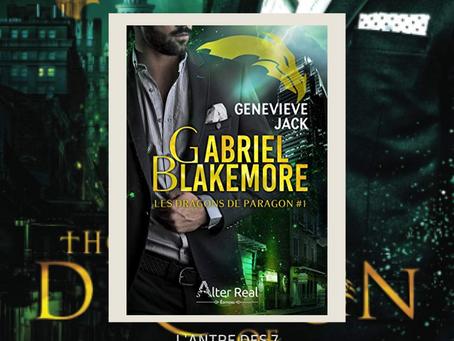 Les Dragons de Paragon, Tome 1 : Gabriel Blakemore, écrit par Genevieve Jack