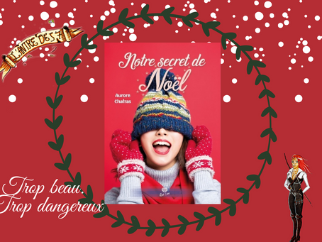 Notre secret de Noël écrit par Aurore Chatras