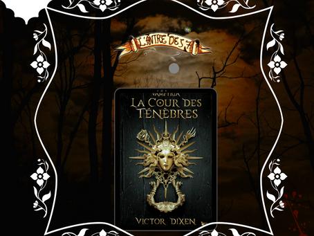 Vampyria, Tome 1 : La cour des ténèbres, écrit par Victor Dixen