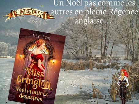 Miss Erington, Noël et autres désastres, écrit par Liv Fox
