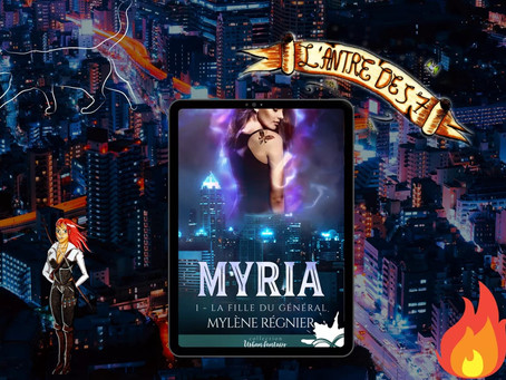 Myria, Tome 1 : La fille du général écrit par Mylène Régnier