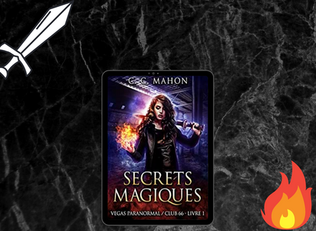 Vegas paranormal / Club 66 ~ Tome 1 : Secrets magiques écrit par C.C Mahon