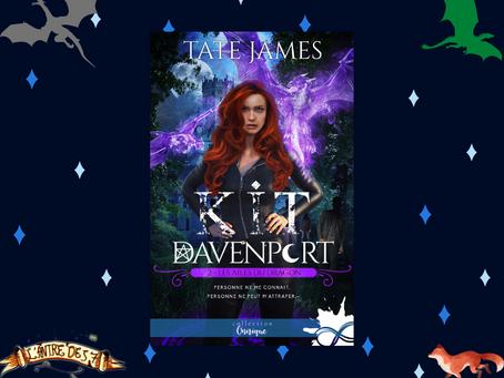 Kit Davenport, Tome 2 : Les Ailes du dragon, écrit par Tate James