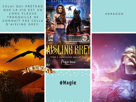 Aisling Grey, Tome 2 : Gardienne malgré elle, écrit par Katie MacAlister