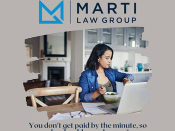 No Surprises: Marti Law Group prides itself on transparency by offering flat fees.