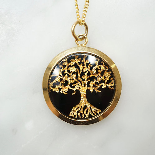 Australian Gold Leaf Tree of Life