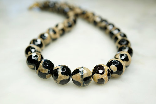 Patterned Agate Necklace