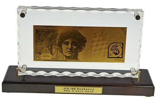 Australian Gold Leaf $100 note