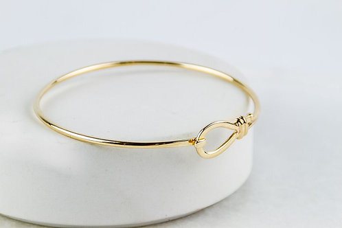 9ct Gold Knot Bangle