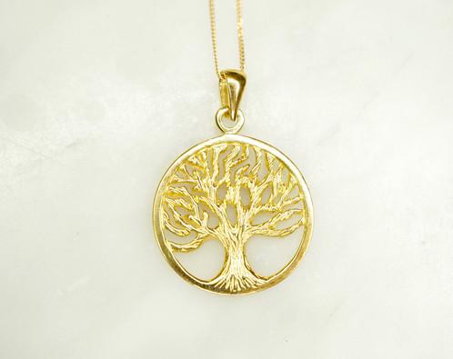 9ct gold tree of life pendant beechworth gold 9ct gold tree of life pendant aloadofball Image collections