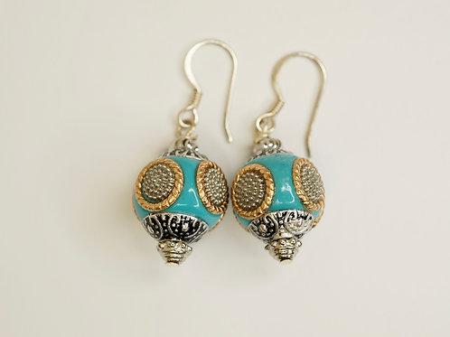 Moroccan Bead Earrings
