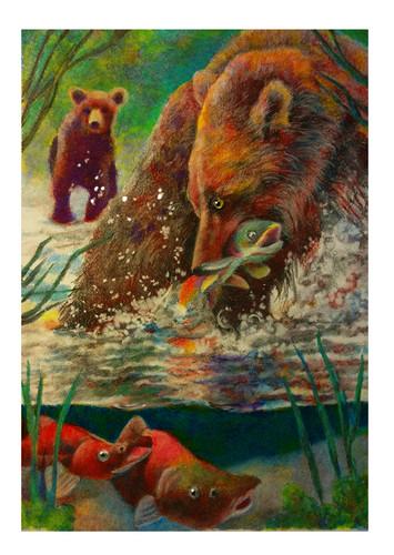 bear and baby salmon small.jpg